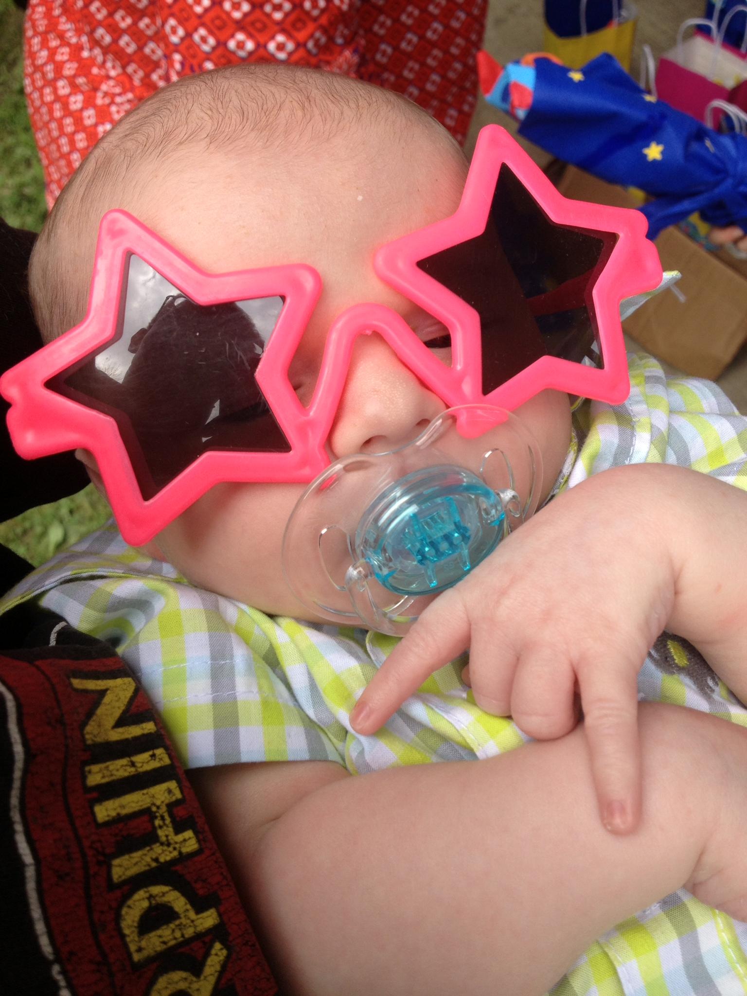 My future's so bright, I gotta wear shades.