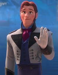 Prince Hans waving